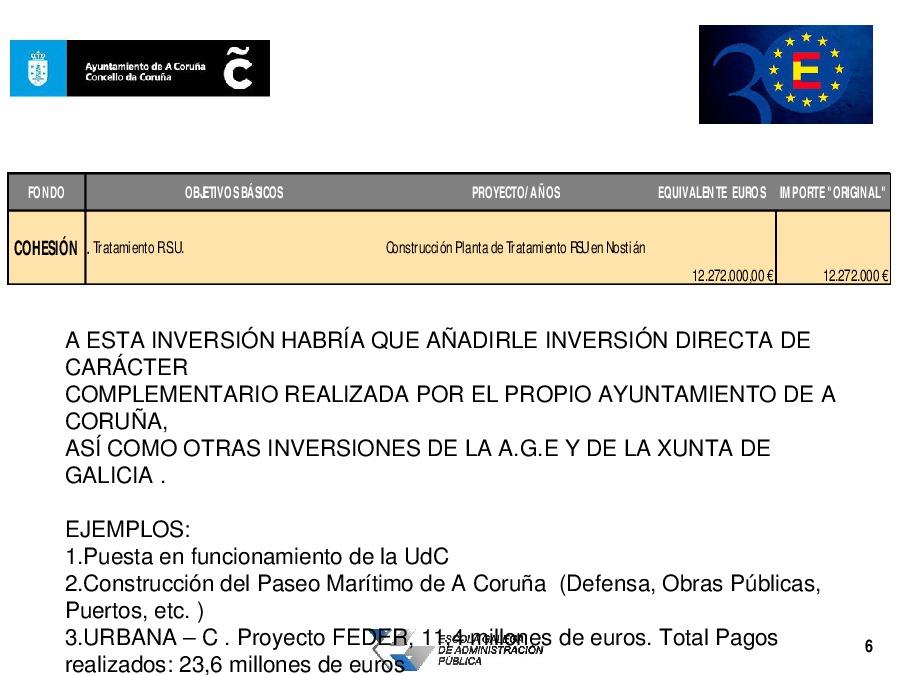 O caso de A Coruña